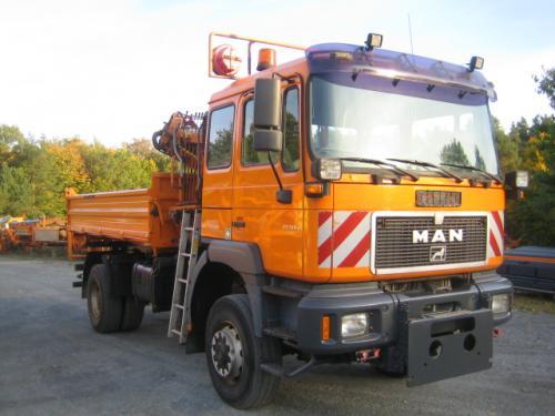 Lkw MAN 19.310 A Allrad mit Winterdienst-Hydraulik